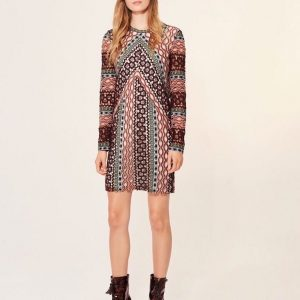 Vestido Beauvoir Tory Burch model2