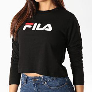 camiseta-fila-black-manga