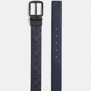 cinturon-coach-negro details