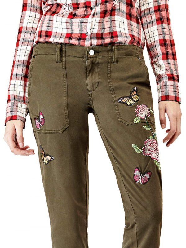 pantalon.guess .verde ....W73B47W5DXG dolcevitaboutique.es