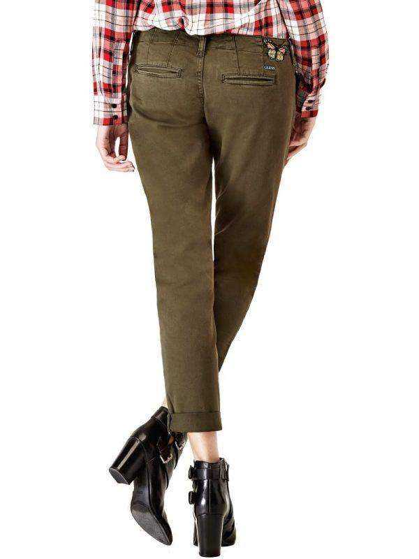 pantalon.guess .verde ..W73B47W5DXG dolcevitaboutique.es