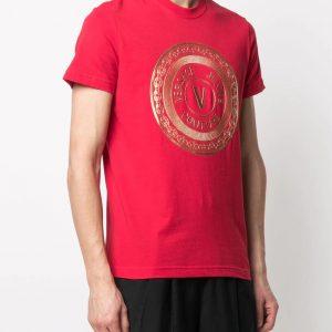 camiseta.roja .logo .versace.B3GWA7TE30319 dolcevitaboutique.es