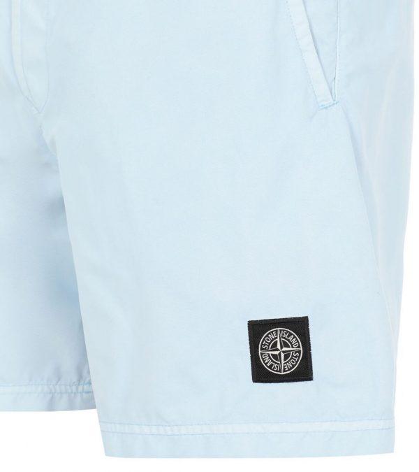 stone island logo swim shorts light blue 7415b0946 dolcevitaboutique.es