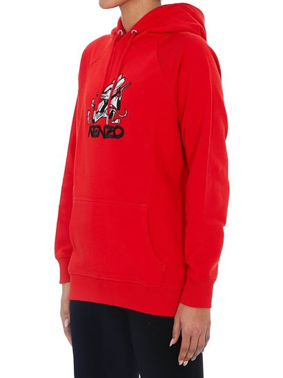 sudadera kenzo mujer capucha dolcevitaboutique.