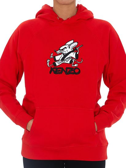 sudadera kenzo mujer capucha dolcevitaboutique.es