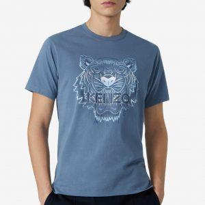 camiseta azul hombre kenzo FB55TS0264YG dolcevitaboutique.e