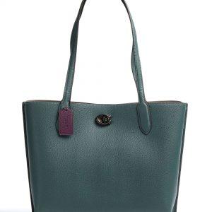 coach willow bolsa shopping verde oscuro c0690 v5for 31 dolcevitaboutique