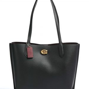 coach willow bolso shopping negro C0689 B4 BK dolcevitaboutique