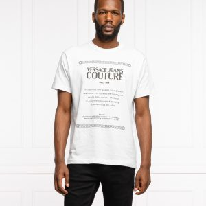 camiseta blanca hombre logo verssce 71GAHT02CJ00T dolcevitaboutique.